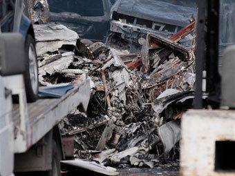 Легкомоторный самолет разбился в Риме
